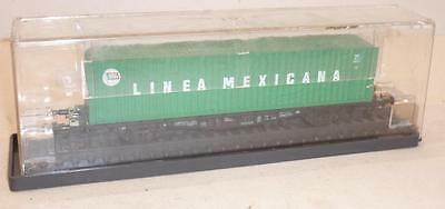 ROWA HO gauge DB FLAT WAGON with LINEA MEXICANA CONTAINER - 2331 BOXED