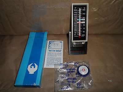 Vintage Portland General Electric Morco Thermometer & Key Ring NOS Never Used