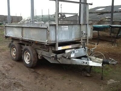 Ifor Williams Tt85G 8X5 8Ft X 5Ft Tipping Tipper Dropside Trailer