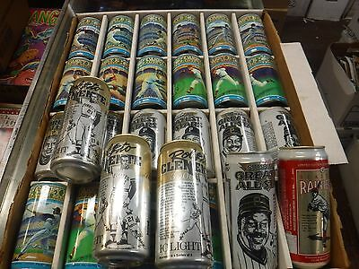 Lot Of 30 Vintage Baseball Cans Empty Clemente Ford Mays Snider++jh