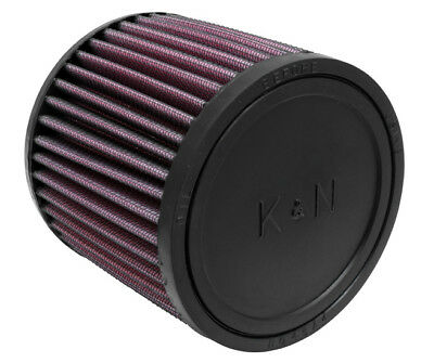"RU-0830 K&N Universal Rubber Air Filter 2-7/16"" FLG, 4-1/2""OD-B, 4-5/16 OD-T, 4"""