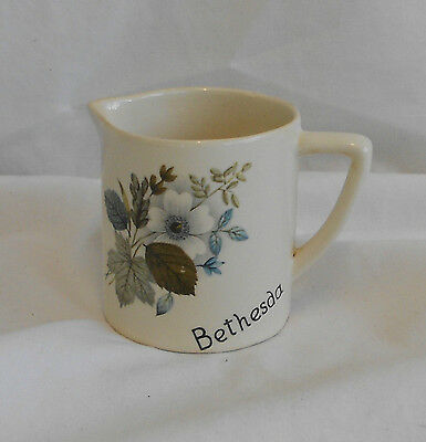 STUNNING Vintage Collectable TRADITIONAL NEW DEVON POTTERY DECORATIVE JUG 7cm