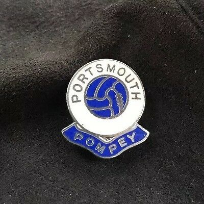 OLD PORTSMOUTH FOOTBALL CLUB VINTAGE RARE ORIGINAL ANTIQUE ENAMEL PIN BADGE Gomm