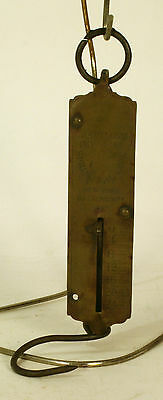 VINTAGE CHATILLON'S Spring BALANCE  SCALE antique 1867 New York used
