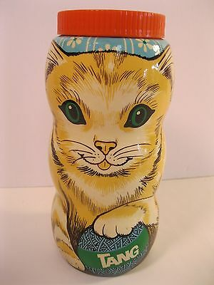 TANG CAT BANK COLLECTIBLE 1980's GENERAL FOODS CORP IN VG USED CONDITION