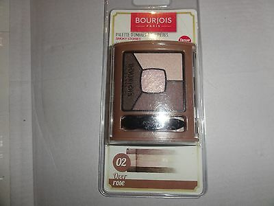 Palette Ombres A Paupieres Smoky Stories 02 Over Rose Neuf Bourjois