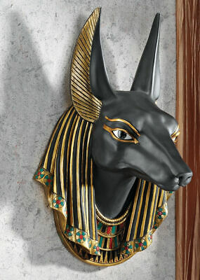 Egift Decor Ancient Egyptian Anubis God of Underworld Wall Scupture 15 Inch Tall