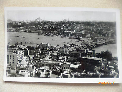 Topographical photo postcard - Undated Unposted ISTANBUL see details