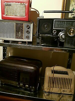 vintage radio and tv collection