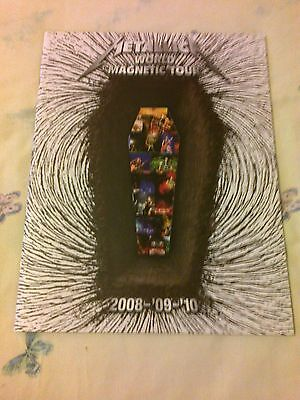 Metallica - World Magnetic Tour 2008-09-10 - Tour Programme - Mint