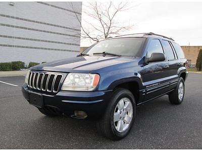 2001 Jeep Grand Cherokee Limited Sport Utility 4-Door 2001 Jeep Grand Cherokee Limited 4WD 6 Cylinder Loaded Sharp Color Free Shipping