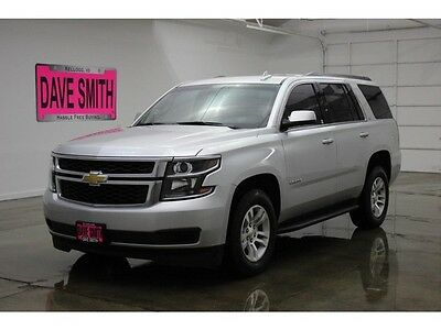 2016 Chevrolet Tahoe  16 Chevy Tahoe LS Four-Wheel Drive Auto Remote Start Keyless Entry Bluetooth
