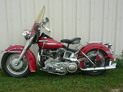 1949 Harley-Davidson Other  Late 1949 Harley Davidson FL Hydra Glide Panhead Very Original Low Mileage