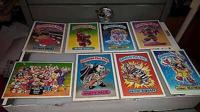 1986 Garbage Paid Kids Gpk Jumbo Cards 5 X 7 Lot Of 8 Cards   Lot#5