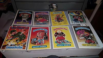1986 Garbage Paid Kids Gpk Jumbo Cards 5 X 7 Lot Of 8 Cards   Lot#8