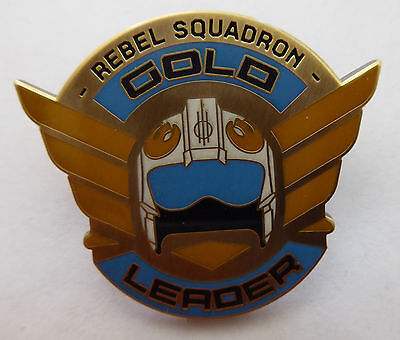 Disney Trading Pins 118508 Star Wars Rogue One Rebel Squadron Leaders - Gold