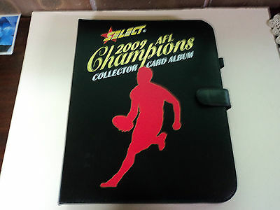 2009 Select Afl Champions Full 195 Common Card Set & Album