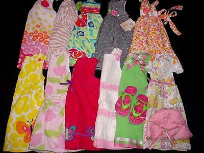 Baby Toddler Girl Used Spring Summer Dress Outfit 2T 3T Clothes Lot