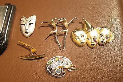 Fabulous Lot of Victorian/Vintage Brooch / Pin Jewelry No Scrap 95g