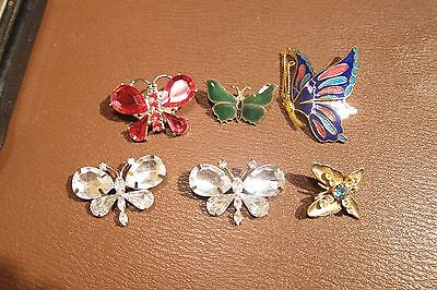 Fabulous Lot of Victorian/Vintage Butterfly Brooch / Pin Jewelry No Scrap 37g