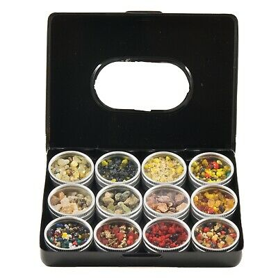 Resin Blends Incense Sampler - 12 Resins Starter Kit Gift Set