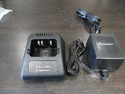 Motorola Ntn1171A Radio Battery Charger Ht1000 Mt2000 Mts With 2580162R01 Power
