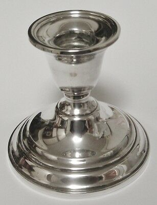 "Vintage International Sterling Silver Candlestick  3-3/8"" Tall"