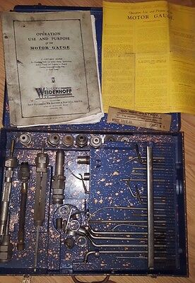 RARE!! 1931 Joseph Weidenhoff Motor Gauge TESTER TOOL for FORD MODEL A & others