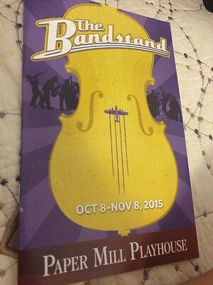 The Bandstand Musical Playbill Pre-Broadway Osnes Cott
