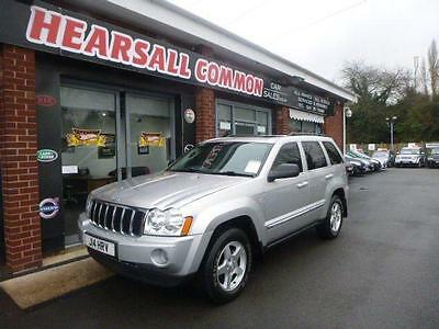 2006 Jeep Grand Cherokee 3.0 V6 Crd Limited 5D Auto 215 Bhp Diesel
