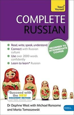 Complete Russian Beginner to Intermediate Course: (Book only) Learn to read, wr.