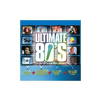 Various Artists - The Ultimate 80's - The only 80's... - Various Artists CD KKVG