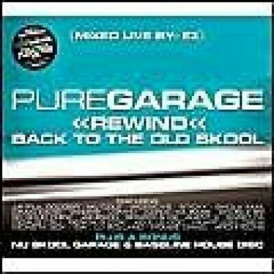 Pure Garage Rewind Back To The Old Skool - Various Artists CD 9IVG The Cheap