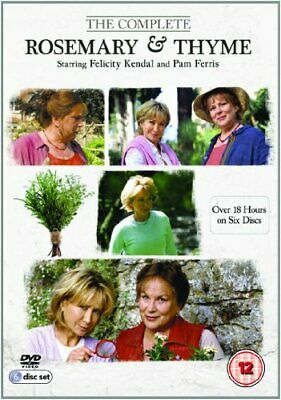 Rosemary & Thyme: The Complete Series [DVD] - DVD  6CVG The Cheap Fast Free Post