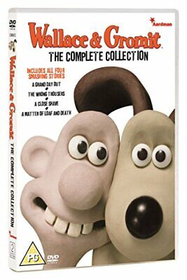 Wallace & Gromit - The Complete Collection [DVD] - DVD  60VG The Cheap Fast Free