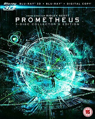 Prometheus - Collector's Edition (Blu-ray 3D + Blu-ray + Digital ... - DVD  ZYVG