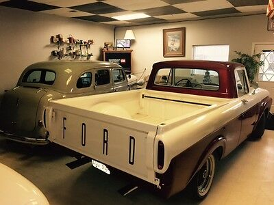 1962 Ford F-100 F100 1962 Ford F100 Uni-Body Pickup Short Bed Custom Cab-Part of a Private Collection