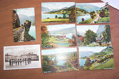 8  Norway post cards