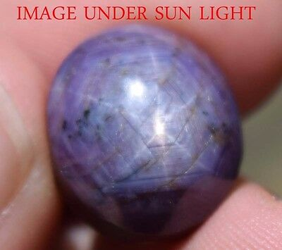 20.30 Cts NATURAL STAR RUBY/SAPPHIRE BEAUTIFUL UNHEATED UNTREATED {VIDEO} F2545