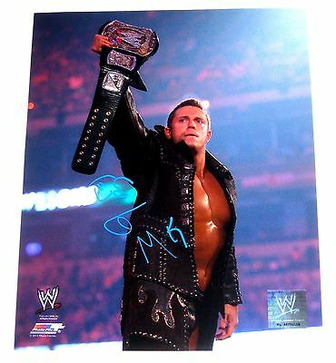 Wwe The Miz Hand Signed 8X10 Photofile With Coa 8 Awesome