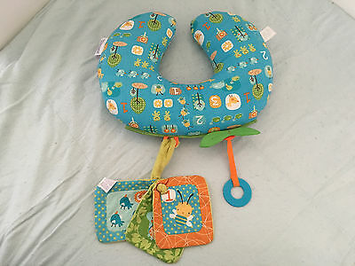 Boppy Tummy Time Pillow, Honeybee 123 Print, Discontinued