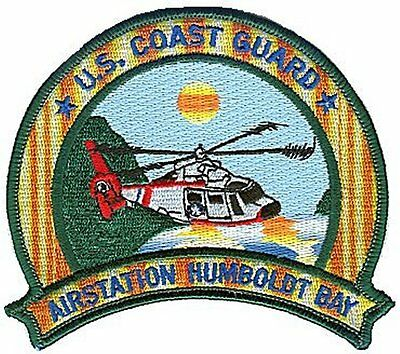 Air Station Humboldt Bay California varied W5019 USCG Coast Guard patch