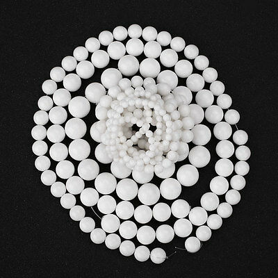 White Natural Stone Jewellery Making Loose Beads Tools Kits Accessories