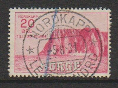 Norway - 1930, 20 ore + 25 ore Tourist Fund stamp - Used - SG 224