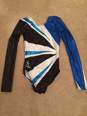 milano long sleeve leotard size 28