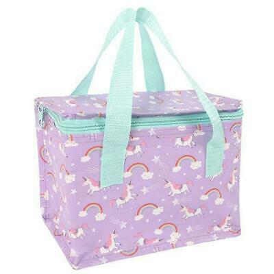 Unicorn Design Childrens Lunch Bag School Packed Lunch Picnic Drinks Easy Clean