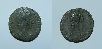 ANCIENT ROME : HELENA (ST HELENA) BRONZE COIN - Mother of Constantine