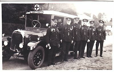 AMBULANCE, REAL PHOTOGRAPH POSTCARD, Early 20thc
