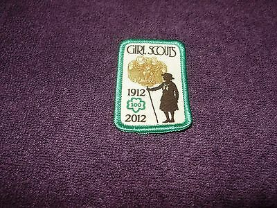 Girls  Scouts  New Girls  Scouts 1912-2012 Anniversary Patch  Own History!
