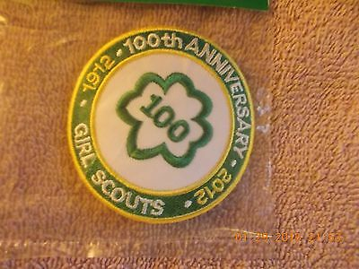 Girls Scouts  Patch~~ 100Th Anniversary  1912-2012~~Wow Own One ~~